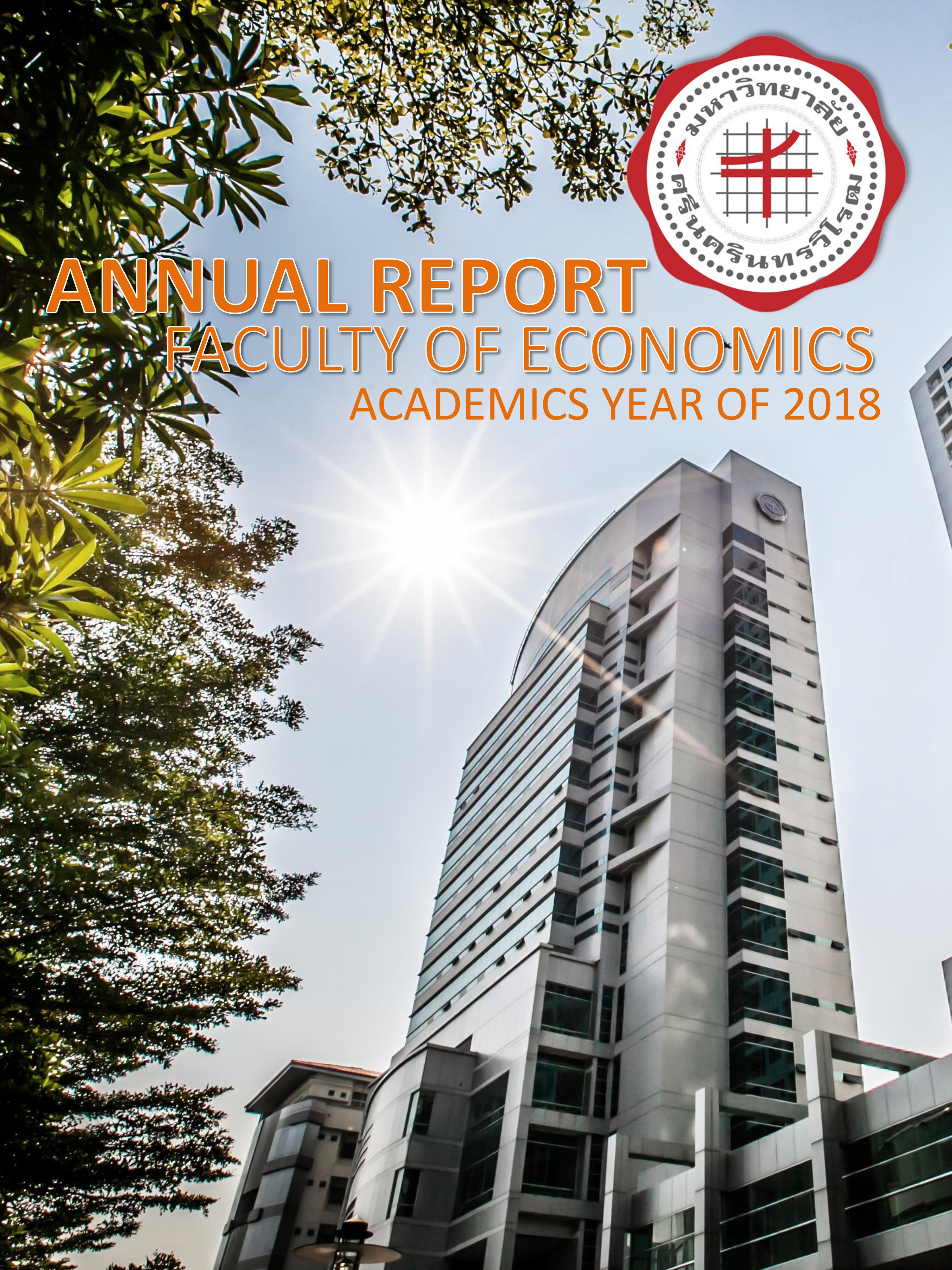 Annual Report Faculty of Economics Academics Year of 2018